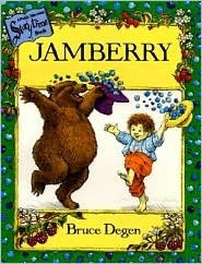 Jamberry Board Book and Tape [With Cassette] Bruce Degen