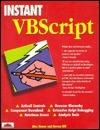 Instant VB Script  by  Alex Homer