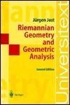 Riemannian Geometry, Geometric Analysis Jürgen Jost