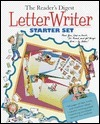 Letter Writer Starter Set [With Stickers and Envelopes and Colorful Stationery] Readers Digest Association