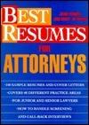 Best Resumes for Attorneys Joan Fondell