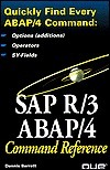 Sap R/3 Abap/4 Command Reference  by  Dennis Barrett