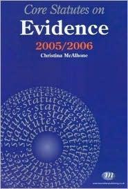 Evidence  by  Christina McAlhone