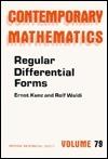 Regular Differential Forms Ernst Kunz