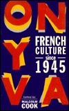 French Culture Since 1945 Malcolm Cook