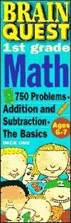 Brain Quest 1st Grade Math  by  Marjorie Martinelli