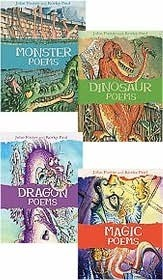 Scary Poems Set: Consisting Of Dinosaur Poems, Dragon Poems, And Monster Poems John   Foster