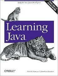 Learning Java  by  Jonathan Knudsen