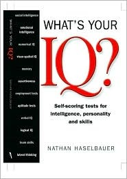 Whats Your IQ? Nathan Haselbaurer