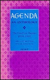 Agenda: An Anthology--The First Four Decades (1959-1993)  by  William Cookson