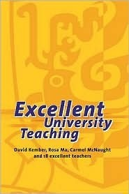 Excellent University Teaching  by  David Kember