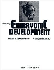 Introduction to Embryonic Development S. Oppenheimer