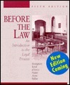 Before the Law: An Introduction to the Legal Process  by  John J. Bonsignore