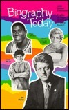 Biography Today 1992 Annual Cumulation Laurie Lanzen Harris