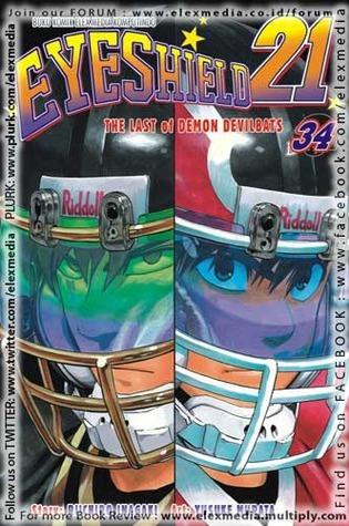Eyeshield 21 Vol. 34: The Last of Demon Devilbats  by  Riichiro Inagaki