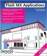 Foundation Flash Mx Applications  by  Scott Mebberson