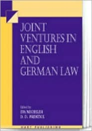 Joint Ventures in English and German Law  by  Eva Micheler