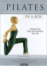 15 Minute Pilates Box Lesley Ackland