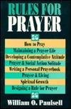 Rules for Prayer William O. Paulsell