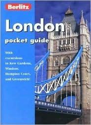 London Pocket Guide  by  Berlitz Publishing Company