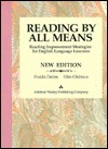 Reading  by  All Means: Reading Improvement Strategies for English Language Learners by Fraida Dubin
