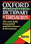 Oxford Minireference Dictionary and Thesaurus  by  Sara Hawker