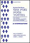 Une Fois Pour Toutes Cassette  by  Hale Sturges