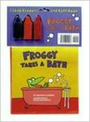 Froggy Takes a Bath bath book and soap crayons Jonathan London