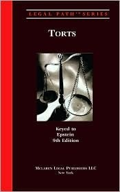 Legal Path Torts (Keyed to  by  William Crandal