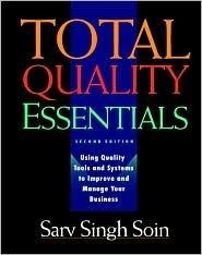 Total Quality Essentials Sarv Soin