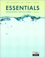 Essentials: Microsoft Access 2003 Level 2  by  Pamela R. Toliver