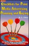 Print Media Planning Manual (Print media advertising series)  by  R.L. Ehler