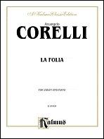 Violin Sonata No. 2 - Piano Score  by  Arcangelo Corelli