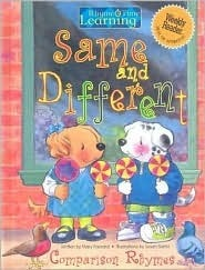 Same and Different Comparison Rhymes Mary Packard