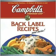 Back Label Recipes and More! Campbells