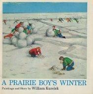 A Prairie Boys Winter  by  William Kurelek