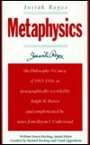 Metaphysics Josiah Royce