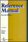 Reference Manual  by  Allan Ed. House