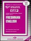CLEP Freshman English  by  Jack Rudman