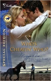 Whos Cheatin Who? (Thoroughbred Legacy #7)  by  Maggie Price