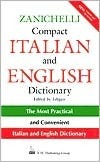 Zanichelli Compact Italian and English Dictionary  by  National Textbook Company