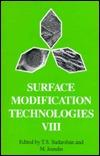 B0617 Surface Modification Technologies VIII T.S. Sudarshan