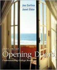 Opening Doors W. Student CD-ROM  by  Joe Cortina