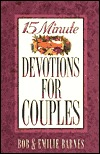 15 Minute Devotions for Couples  by  Bob Barnes