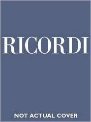 I Masnadieri: Vocal Score Giuseppe Verdi