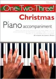 One-Two-Three] Christmans Piano Accompaniment Easy Intermediate  by  James Power