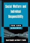 Social Welfare and Individual Responsibility  by  David Schmidtz