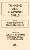 Thinking And Learning Skills, Volume 2 Susan F. Chipman