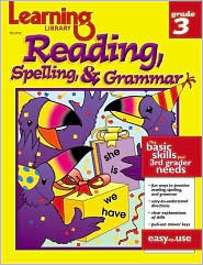 Learning Library Reading, Spelling, and Grammer Grade 3  by  Kathy Wolf
