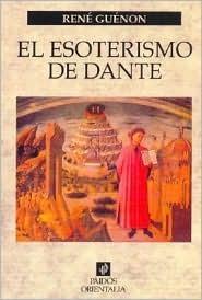 Esoterismo de Dante René Guénon